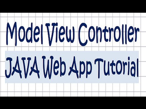 Model View Controller JAVA Web Application Tutorial