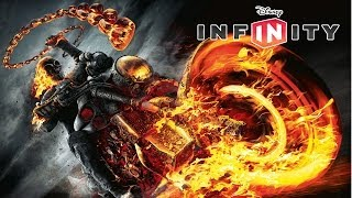 Disney Infinity GHOST RIDER And DINOSAUR WORLD! New