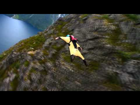 Wingsuit base jumping in Norway *Better Quality* MUST SEE!
