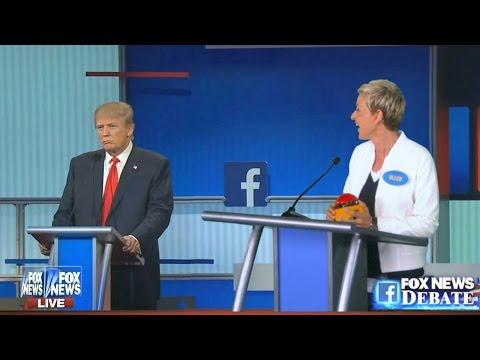 Ellen at the Republican Debate