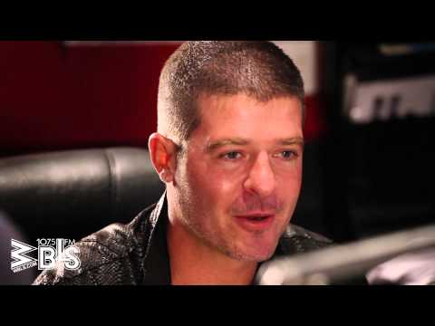 Robin Thicke Opens up about Separation from Wife, Paula Patton On