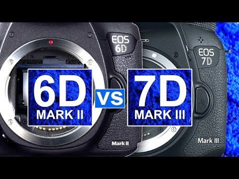 Canon 6D Mark II vs Canon 7D Mark III - Which do YOU Think is the MORE Interesting Camera?