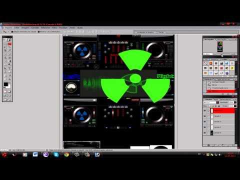 como criar skin para virtual dj