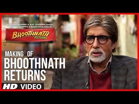 Making of Bhoothnath Returns   Big B Masti   Amitabh Bachchan, Boman Irani, Parth Bhalerao