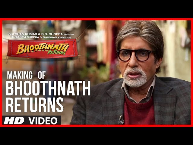 Making of Bhoothnath Returns | Big B Masti | Amitabh Bachchan, Boman Irani, Parth Bhalerao