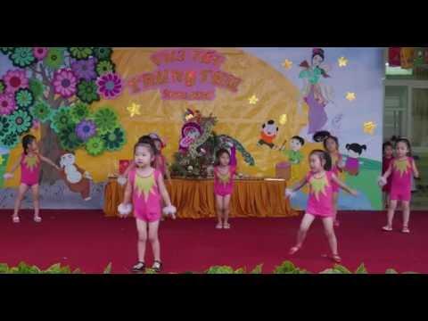 Aerobic Trời Nắng Trời Mưa - Chồi 6 - Trung Thu 2016 - Mầm Non Hoa Sen Buôn Ma Thuột