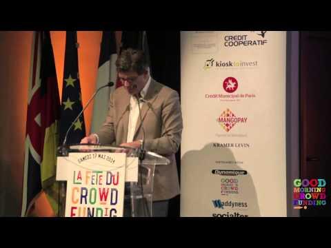 Premier discours d'Arnaud Montebourg sur le Crowdfunding