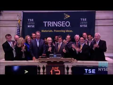 Trinseo Celebrates Public Debut on the New York Stock Exchange