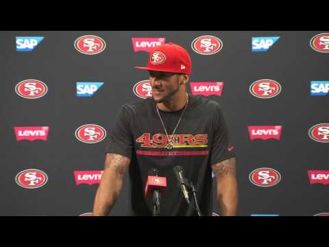 Colin Kaepernick Contract Extension Press Conference