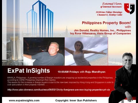 Philippines' Property Boom with Ivy Villanueva & Raju Mandhya