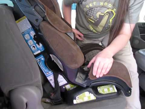 How To Install The Cosco Safety 1st Eddie Bauer 3 In 1