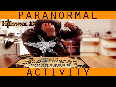 Halloween Ouija Board Gone Wrong. Scary Demonic Paranormal Activity Caught on Tape