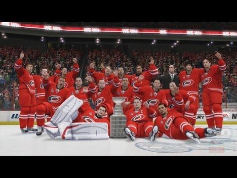NHL 14 - Carolina Hurricanes Stanley Cup Championship Celebration