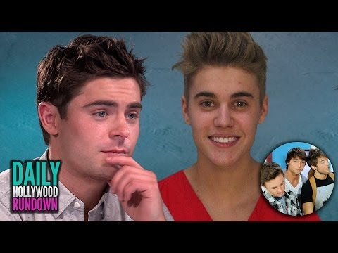 Zac Efron Defends Justin Bieber!  Emblem3 Talks Picking Up Girls on Tour!