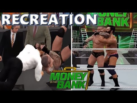 WWE 2K17 RECREATION: RANDY ORTON VS JINDER MAHAL | MONEY IN THE BANK 2017 HIGHLIGHTS