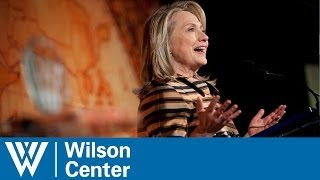 Hillary Clinton Honored with The Woodrow Wilson Award for Public Service