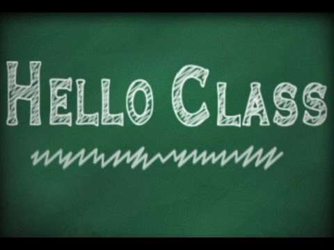 Hello Class Directions, Learn English Vocabulary Online ...