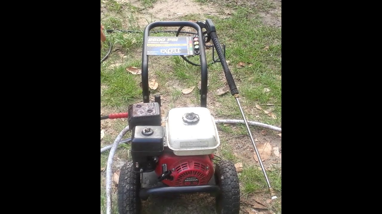 Honda Commercial Ex Cell Pressure Washer 6 5hp Ohv Gx200