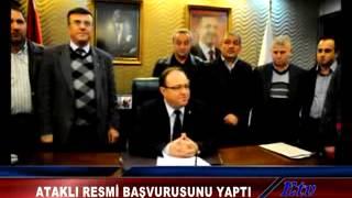 AK Parti'de Sadık Ataklı Resmi Başvurusunu Yaptı