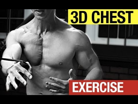 CRAZY Chest Exercise - How to Build a Ripped, Defined Chest