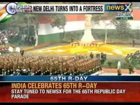 India celebrates 65th Republic Day - NewsX