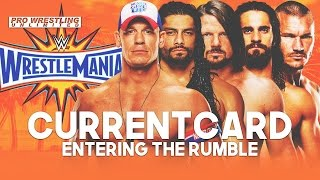 Current WrestleMania 33 Card Entering The Royal Rumble
