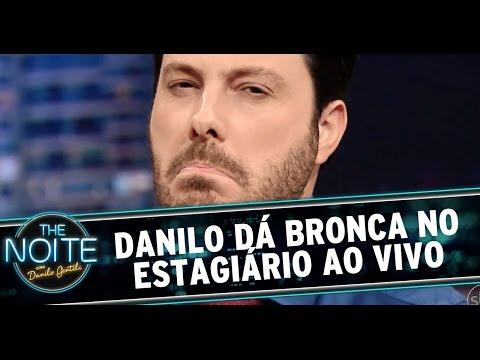 The Noite 30/07/14 (parte 3) - Danilo dá bronca no Jamal