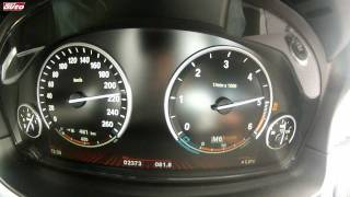 BMW M550d XDrive 0-250 Km/h Test Drive New M5 Style 740 Nm