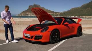 Наши тесты. Вып. 917. Porsche 911 Carrera GTS Cabriolet. Авто Плюс ТВ
