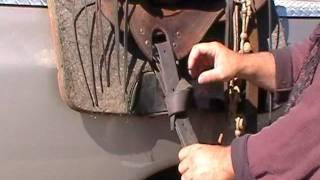 How To Tie A Latigo Quick Release Latigo Leather