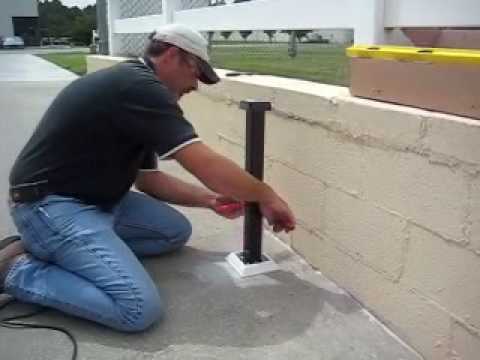 Ask Southern Installing Post Mount On Slope Surface