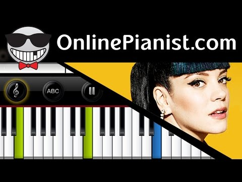 Keane / Lily Allen - Somewhere Only We Know - Piano Tutorial & Sheet - John Lewis 2013 Christmas Ad