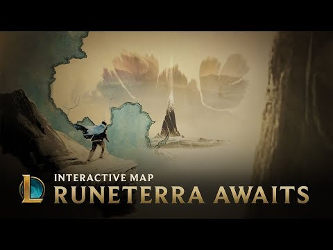 Runeterra Awaits | Interactive Map