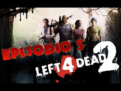 DECAPITACIONES ZOMBIE!!! - Left4Dead episodio #5 - Gameplay comentado