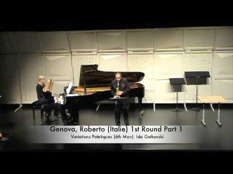 Genova, Roberto (Italie) 1st Round Part 1
