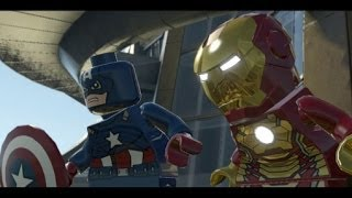 LEGO Marvel Super Heroes 100% Walkthrough Part 5