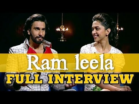 Deepika Padukone & Ranveer Singh talk about Ram leela, Flirting, Romance, Love, Relationships & more