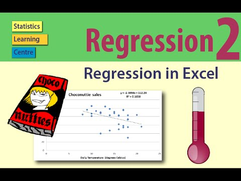 Regression in Excel - Statistics Help