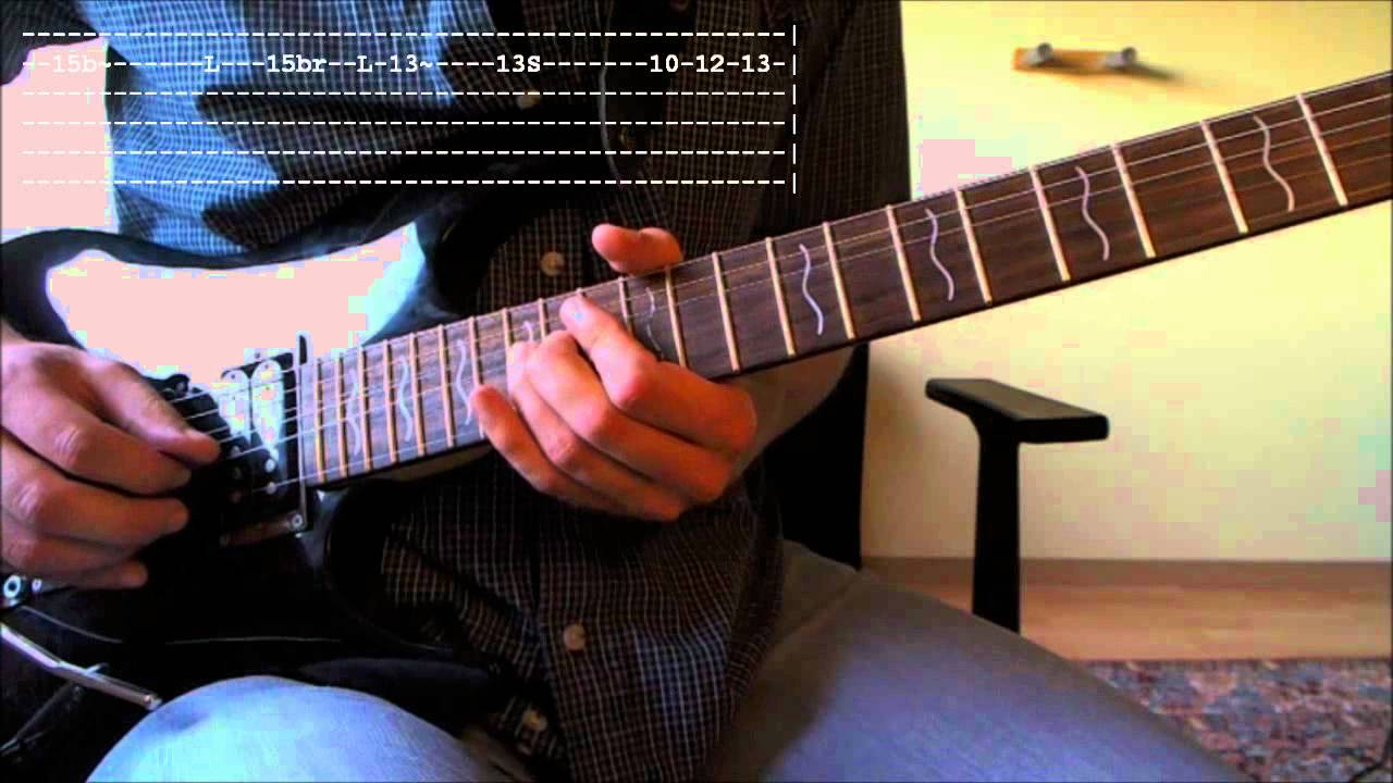 how to play still got the blues on guitar