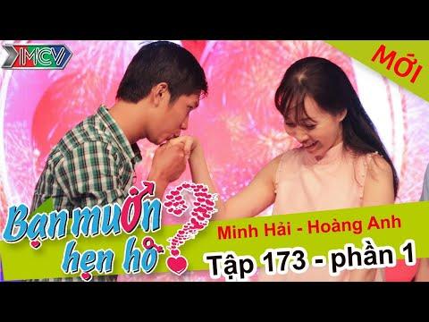 Xúc động với chuyện hẹn hò của cặp đôi chân tình   Minh Hải - Hoàng Anh   BMHH 173