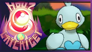 How & Where To Catch/get Ducklett In Pokemon X And Y