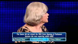 Ann Widdecombe On The Chase Game Show