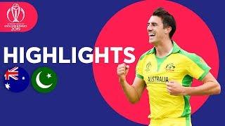 Warner Hits Hundred! | Australia vs Pakistan - Match Highlights | ICC Cricket World Cup 2019