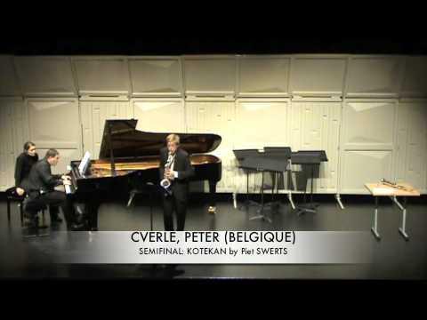 CVERLE, PETER (BELGIQUE) KOTEKAN by Piet SWERTS
