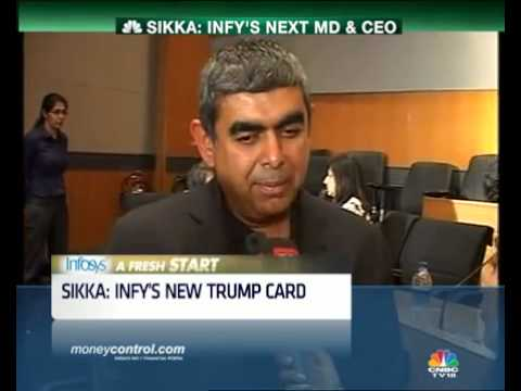 Why Vishal Sikka's non-IT service background isn't a worry -  Part 1