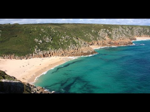 Travel Video Porthcurno Beach - West Cornwall - United Kingdom 2013 - DEJPOST TV - My Free Haven