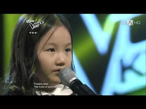 Cô bé hát Think of me cực hay tại The Voice Kids Hàn Quốc