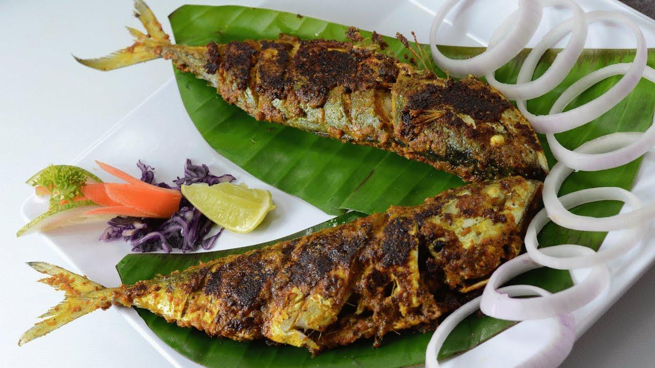 Aila Fish Fry - By Vahchef @ vahrehvah.com - YouTube