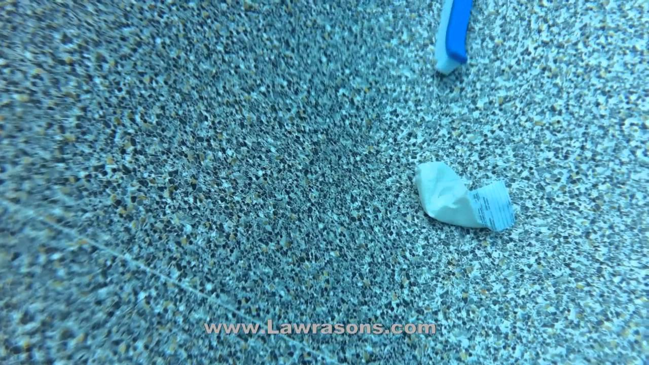 Swimming Pool Stains : Spot swimming pool stain removal with aqua erase