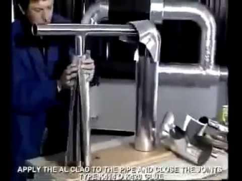 K-Flex - instalacja systemu AL CLAD T - rury